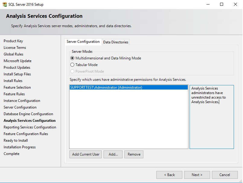 SQL_server_analysis_services_configuration_admin