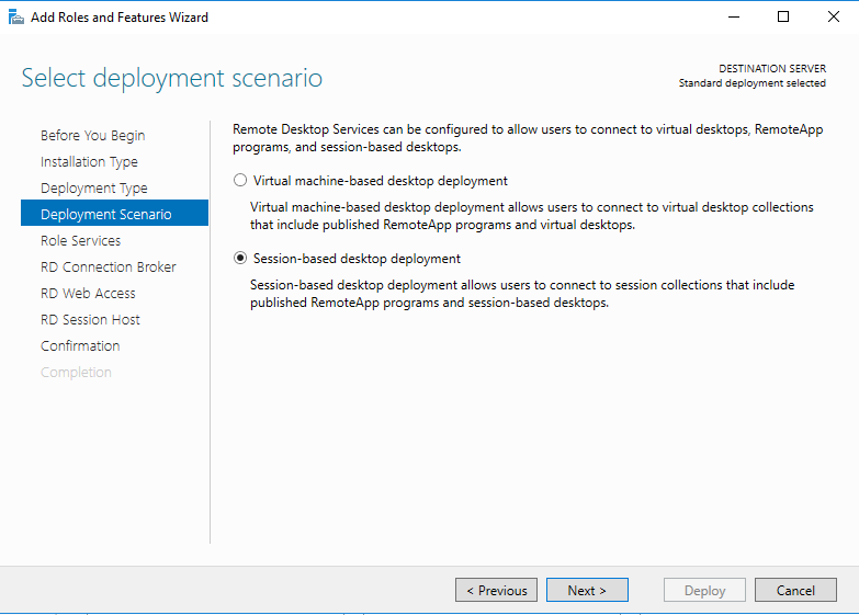 I'd like to install Microsoft Remote Desktop Servi… | TransIP