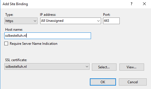 Installing an SSL certificate in Microsoft Windows… | TransIP