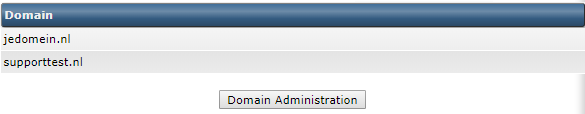 DirectAdmin multiple domains