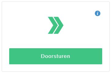 Klik op 'Doorsturen'
