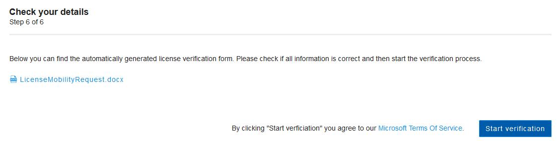 LM check details