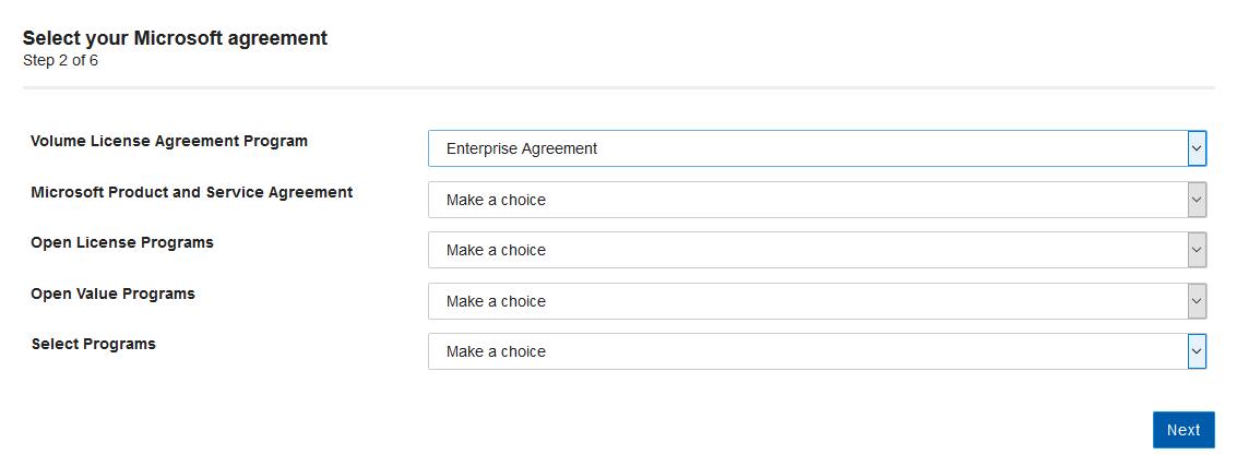 Select LM agreement