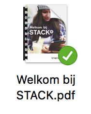 Mac sync-iconen