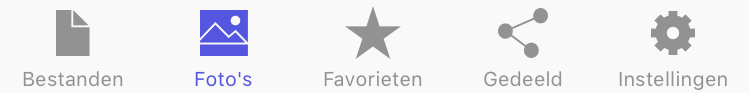 STACK iOS app foto's