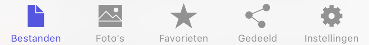 STACK iOS app Bestanden