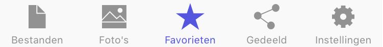 STACK iOS app favorieten