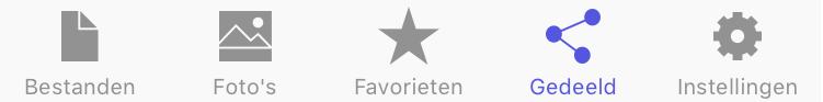 STACK iOS app gedeeld