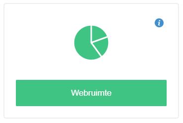 Klik op 'Webruimte'