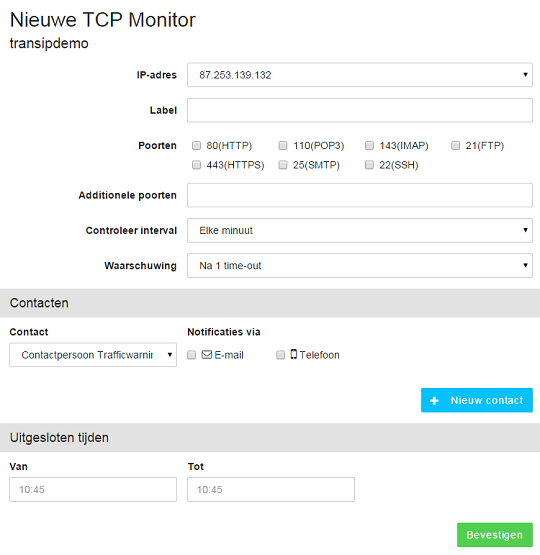 afbeelding van colocatie server monitoring