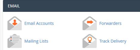 cpanel mail accounts