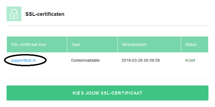 ssl select certificate