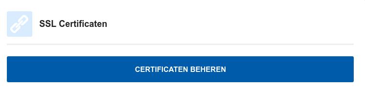 HA-IP SSL Certificaten