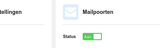 VPS Mailservice Mailpoorten