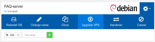 VPS Upgrade