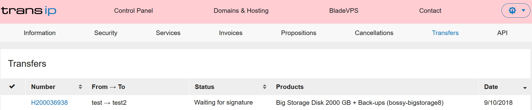 cp handover big storage