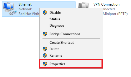 windows 2012 network connections