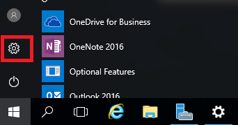 server 2016 settings