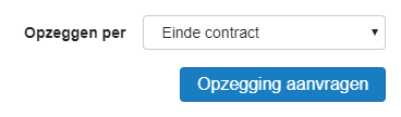 Per einde contract