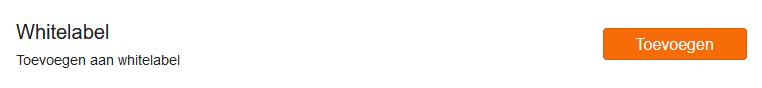 domein aan whitelabel toevoegen