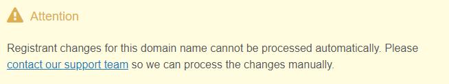 manual contact change notification