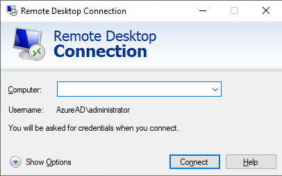 windows 10 remote desktop connection