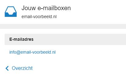 Klik op het e-mailadres