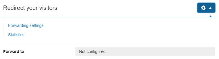 forwarding settings